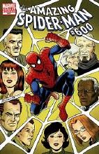 Amazing Spider-Man #600 Jrsr Var