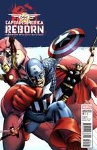Captain America Reborn #4 (of 6) Cassaday Var