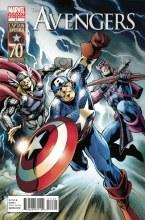 Avengers #11 Captain America 70th Anniv Davis Var
