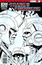 Transformers Ongoing #20 10 Copy Incv