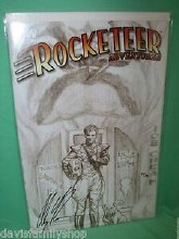 Df Rocketeer #4 Ross Sketch Cvr Sgn Ed 121/300