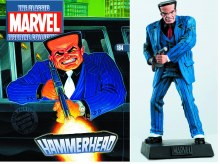 Marvel Classic Figurine #184 Hammerhead w/Collectors Magazine