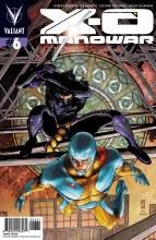 X-O Manowar #6 50 Copy Incv Zircher Cvr (Net)