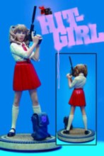 Hit Girl Statue Red Skirt Variant Dynamic Forces Ap Ed