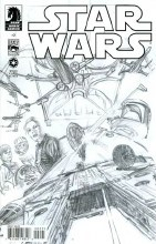 Star Wars #2 2013 Ongoing Ross Sketch Incv