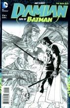 Damian Son of Batman #1 (of 4) Black & White Var Ed