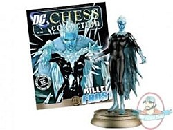 DC Chess Figurine #62 Killer Frost Black Pawn w/Collectors Mag