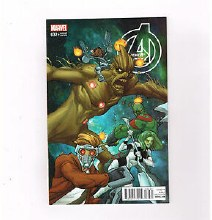 Avengers #32 Gotg Ferry Var