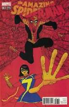 Amazing Spider-Man #7 Pulido Var Eosv