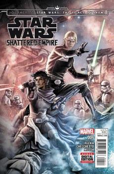 Journey Star Wars Force Awakens Shattered Empire #4 (of 4)