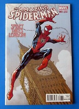 Amazing Spider-Man Vol 4 #1 Bagley Variant