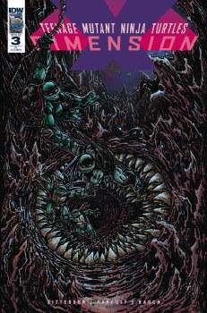 Tmnt Dimension X #3 1:10 Incentive Var