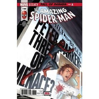 Amazing Spider-Man #789 Leg