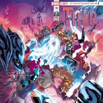 Mighty Thor #700 Leg