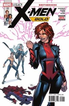 X-Men Gold #22 Leg