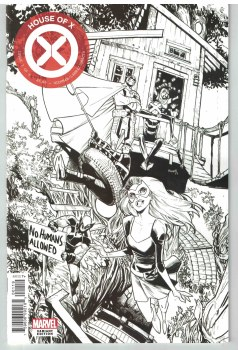 House of X #1 (of 6) Party Sketch Var
