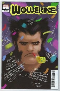 Wolverine #1 Party Sketch Var Dx