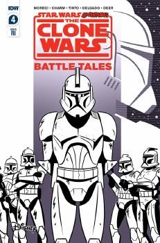 Star Wars Adventures  Clone Wars: Battle Tales #4 (of 5) 10 Copy Incv Charm