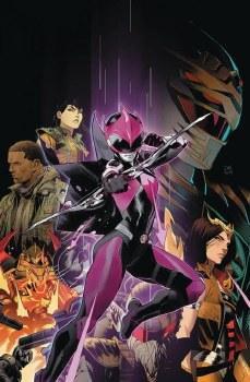 Power Rangers Ranger Slayer #1 Mora 10 Copy Incv Var
