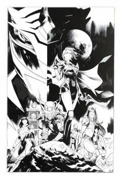Power Rangers Drakkon New Dawn #1 25 Copy Mora Incv