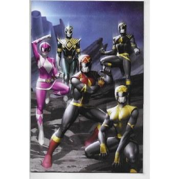 Power Rangers #1 Wraparound 1 Per Store Var