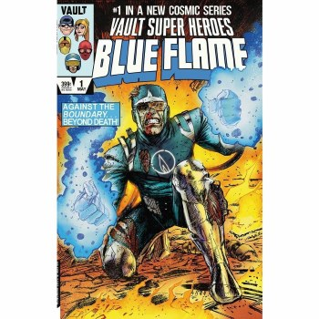 Blue Flame #1 Cvr D 15 Copy Incv Pace