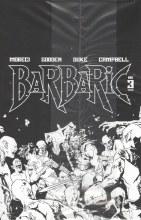 Barbaric #3 Cvr B Dlx Ed B&W Black Bag