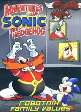 Adventures of Sonic the Hedgehog: Robotnik Family Values DVD