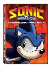 Sonic the Hedgehog: The Doomsday Project DVD