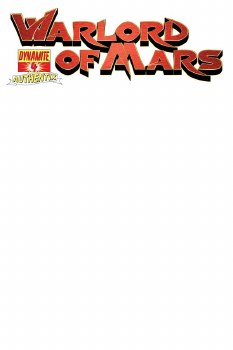 Df Warlord of Mars #4 Authentix Cvr