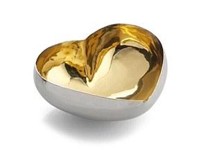 Heart Dish Gold