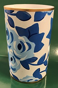 Chintz in Blue Pen Cup