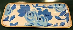 Chintz in Blue Tray