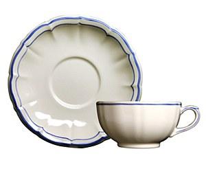 Filets Bleu, Cups/Saucer S/2