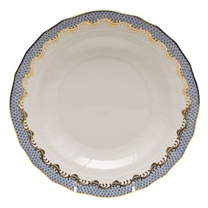 Fish Scale Dinner Plate L/BLUE