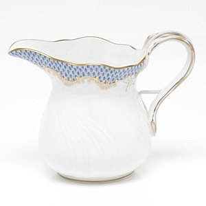 Fish Scale Creamer, L/BLUE
