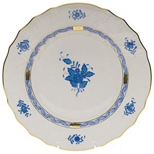 Chin. Bouq, Dinner Plate, BLUE