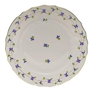 Blue Garland, Dinner Plate