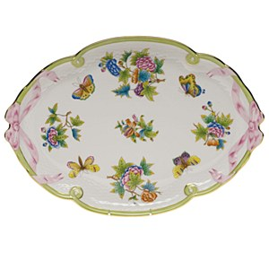 Queen Victoria, Ribbon Tray