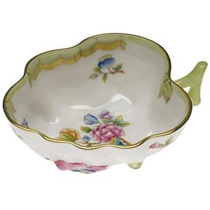 Queen Victoria Deep Leaf Dish