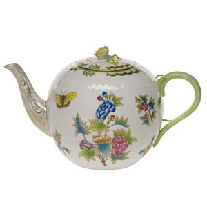 Queen Victoria, Teapot