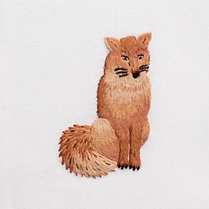 Hand Towel, Fox Towel