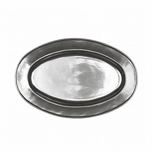 Pewter Oval Platter, Medium