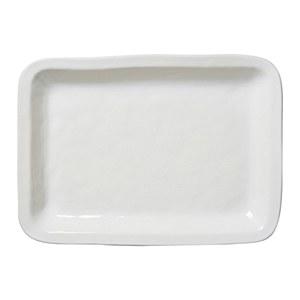 Puro White Rectangular Tray