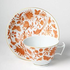 Bird/Butterfly Tea Cup/Saucer