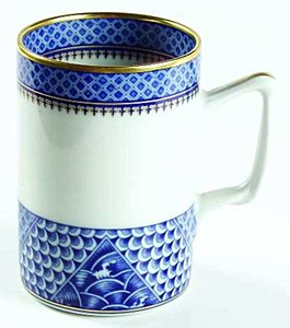 Indigo Wave Mug
