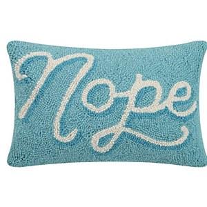 Nope Pillow HP PF 8x12