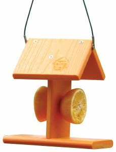 Oriole Orange Feeder Made from Recycled Plastic