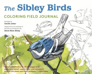 Sibley Birds Coloring Field Journal