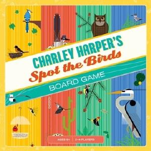 Charley Harper's Spot the Bird Board Game